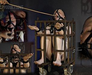[SensualPain.com] slave Lucy - Evaluating slave Lucy Day 2 (28.06.2020 g.) [2020 g., Transgender, Cage, Bondage, Caning, Cuffs, Dildo, BDSM, Ring Gag, SiteRip, 1080p]