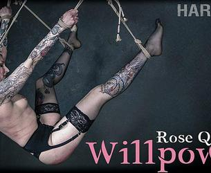 [HardTied.com] Rose Quartz (Willpower / 01.01.2020) [2019 g., BDSM, Humiliation, Torture, Whipping, 720p]