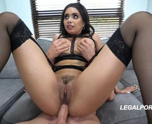 [LegalPorno.com] Aaliyah Hadid is a BEAST..1st ever DP! Took it like a Fucking pro MUST WATCH AA005 / 29.01.2018 [DP, Gape, Big tits, A2M, Toys, Anal, 2160p 4K]