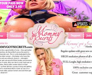 [MOMMYGOTSECRETS.COM] (19 rolikow) Pack / Maminy sekrety vol.2 [2010-2012, Anal, Bbw, Big tits, Blondes, Blowjob, Brunettes, Cunnilingus, Cum shots, Dildo, Facial, Fisting, Hardcore, Leather, Lesbians, Mature, MILF, Older, Red Heads, Shaved, 720p]