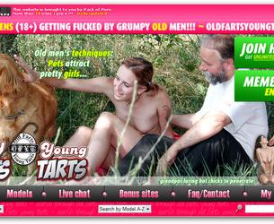 [OldFartsYoungTarts.com / PackOfPorn.com] (52 rolika) MegaPack / Starye Perduny Molodye Pirozhki [2007 g. Asslicking (Rimming), BlowJob, Straight, Teen Sex, Old Man]