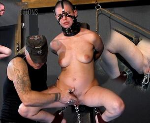 [SensualPain.com] Abigail Dupree - Spread Wide Brutality (12.08.2020 g.) [2020 g., BDSM, Bondage, Fingering, Flogging, Whipping, Pussy Torture, Pierced Pussy, SiteRip, 720p]