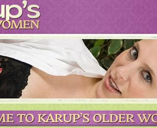 [KarupsOW.com] Fewral' 2015 (20 rolikow) Pack - Karup's Older Women 02.15 [2015 g., Straight, Big Ass, Masturbation, MILF, Solo, HDRip, 720p]