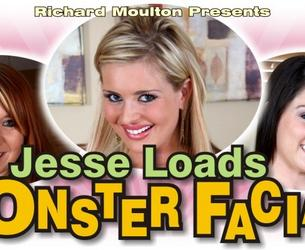 [JesseLoadsMonsterFacials.com] (503) MegaPack / Monstry Konchat' na Lico (Bonusnye sceny i BTS) [2008-2016, Oral Cumshot, All Sex, Big Tits, Young, Amateur] [480p] [720p] [1080p]
