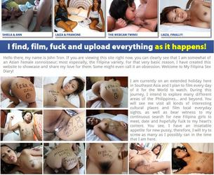 [FilipinaSexDiary.com] Filipina Sex Diary / Sex Dnewnik Filippinki (32 rolika) [2012 g., Blowjob, Masturbation, Cumshot, Facial, Creampie, Oral, Asian, 720p] Chast' 4