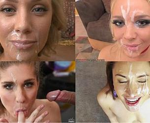 1000Facials.com cumshot compilation (2010-2016 gg.) [Oral, Blowjob, Facial, Cum shots, HDRip, 720p]