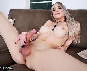 [TransAtPlay.com / Trans500.com] Maria Clara Ludovice - All About Ms.Ludovice (14-08-2020 g., Transsexuals, Shemale, Solo, Big Tits, Bubble Butt, Cumshot, Masturbation, 360p]