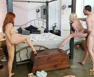 [DTFSluts.com / Analized.com] Kenna James, Penny Pax - Surprise Threesome! [2020-06-12, Big Dick, Big Tits, Blonde, Creampie, Fisting, Group Sex, MILF, Reality, Redhead, Shaved Pussy, Small Tits, Threesome, Homemade, 2160p]