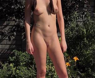[AlsAngels.com] Rebecca Volpetti (UHD #002) [18.12.2018 g., Photoshoot, Shaved, Posing, Solo, Outdoor, 4K, 2160p]