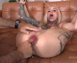 """[LegalPorno.com / AnalVids.com] Sasha Beart Testing The Handmade """"Balldog"""" Size L (With Additional Anal Fisting) TWT080 [26-07-2021, Russian, anal, anal fingering, destroyed asshole, fisting, giant dildo, huge toys, prolapse, real orgasm, squirting, tattoo, 720p]"""