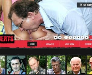 [OldPerverts.com / Maniacpass.com] Old Perverts / Starye Izwraschency (11 rolikow) [2012 g, All sex, Old Men, Teen, SiteRip] chast' 4