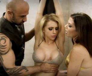 Enslaved by the Evil Alchemist (w. Alix Lynx & Lynn Vega)