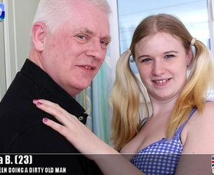 [Teens-Love-Oldmen.com / Mature.nl] Mona B. (23) (tlom-tower004)[720p/05.08.2015 g., Old Man, Old-Young, Blonde, UK, Natural Tits, Medium Tits, Shaved Pussy, All Sex, Oral, Cumshot]
