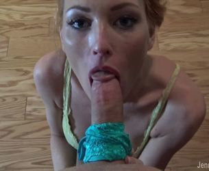 Sibling Sloppy BJ and Titty