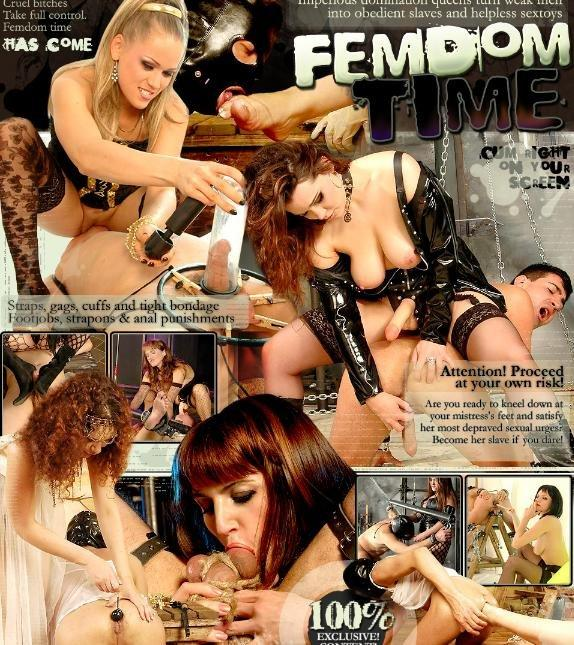 FemdomTime Collection 20 Videos >Dominated