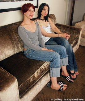 ***VERY SEVERE SPANKING*** Blistered Sisters